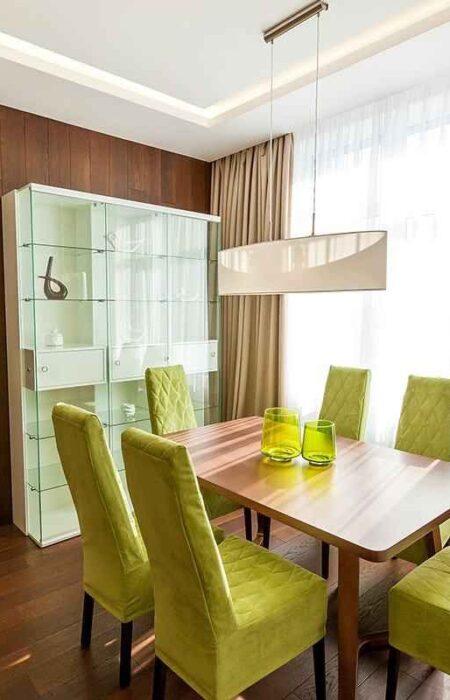 Функциональный интерьер квартиры в амбициозном ЖК «Новопечерские Липки»