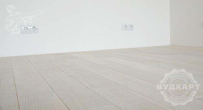 Паркетная доска дуб, фаска, ширина 120мм, палубный набор