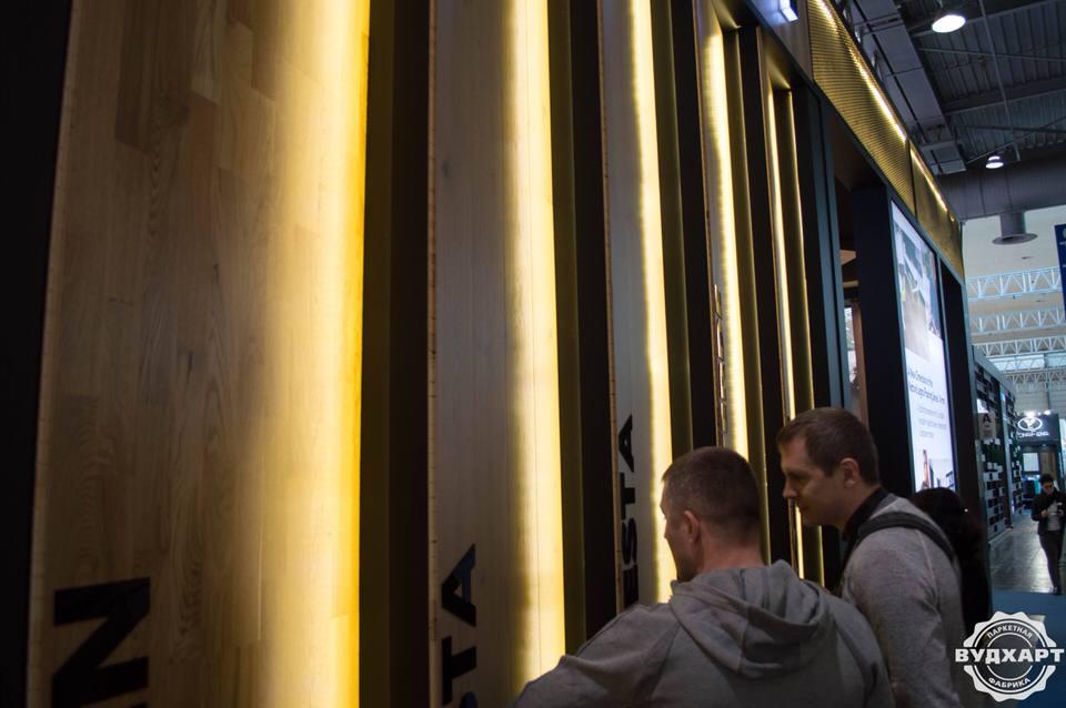 Вудхарт на выставке паркетной доски Domotex 2018