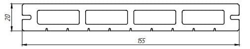 Характеристики террасной доски «Lite Premium»