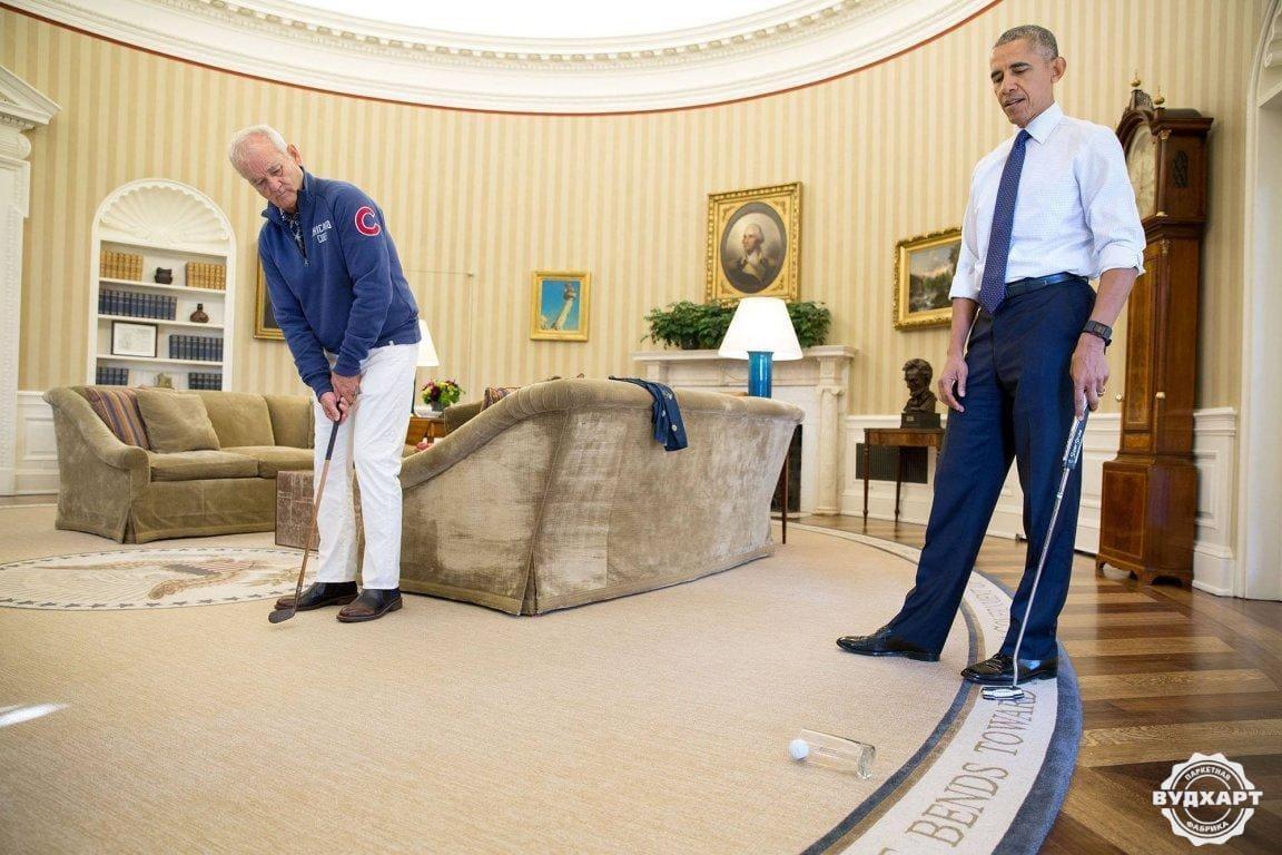 Белый дом - паркетная доска Вудхарт