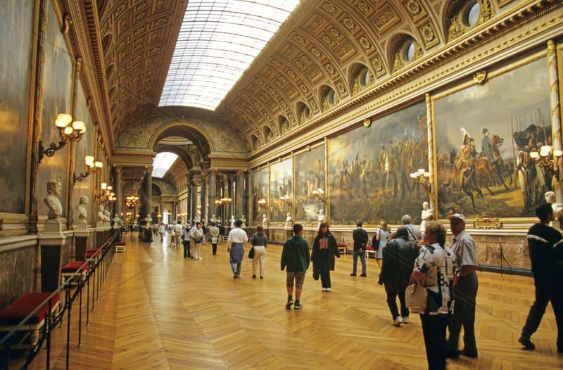 Версальский дворец - французская елочка