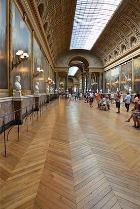 Версаль, паркетная доска французская елка