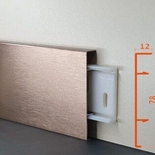 Алюминиевые плинтуса AluExpo характеризуются широким диапазоном расцветок и оригинальной отделкой покрытия, в соответствии с современными тенденциями дизайна